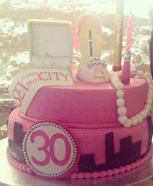Sex and the city - Cake by Le Pam Delizie