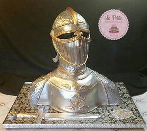 Knight in Shining Armor - Cake by Quinn- La Petite Confections