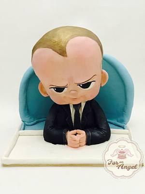 Cakeflix Collab : Boss Baby - Cake by Rifera Pawlowski