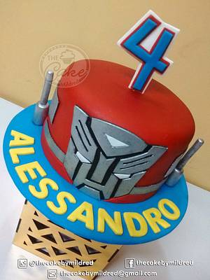 Transformers - Cake by TheCake by Mildred
