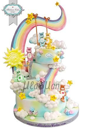 Care Bears Rainbow Cake / Грижовните мечета - Cake by MLADMAN