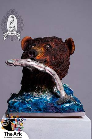 """Heroes of the Wild """" Ozzy Bear""""  - Cake by Lotties Cakes & Slices"""