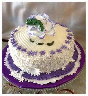 """Flowers & Pickles  - Cake by June (""""Clarky's Cakes"""")"""