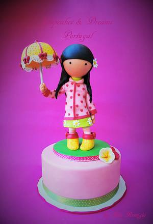 COLORFUL GORJUSS - Cake by Ana Remígio - CUPCAKES & DREAMS Portugal