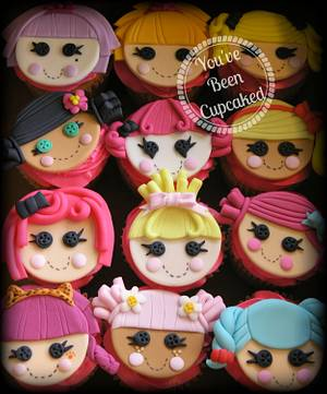 Lalaloopsy cupcakes - Cake by You've Been Cupcaked (Sara)
