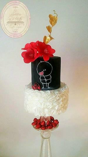 A LITTLE HEART FOR YOU  ❤ - Cake by Il Laboratorio Di Raffy