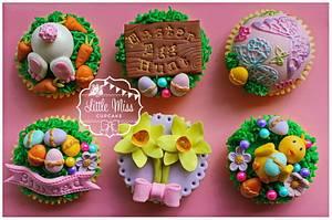 Easter Egg Hunt - Cake by Little Miss Cupcake