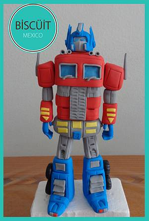 Optimus - Cake by BISCÜIT Mexico