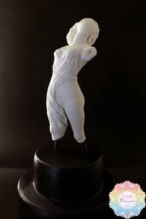 Menade di Skopas Greco Roman Statues Challenger - Cake by Linda Biancardi