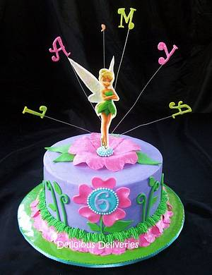 Tinkerbell Cake - Cake by DeliciousDeliveries