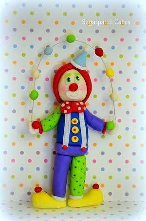 Choo Choo the Clown! - Cake by Sugarpatch Cakes