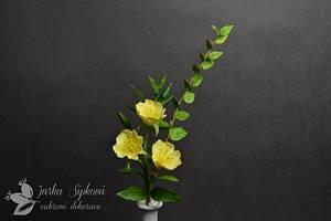 Evening Primrose - Cake by JarkaSipkova