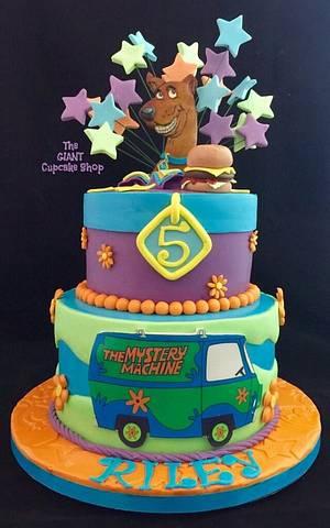 Scooby Doo - Cake by Amelia Rose Cake Studio