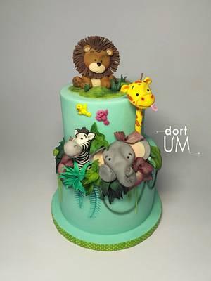 Jungle cake - Cake by dortUM