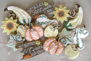 Get your Gourd On Cookie Set - Cake by virago