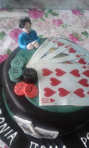 Poker cake - Cake by Emily Lovett