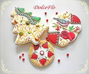 Christmas Pomegranate - Cake by DolceFlo