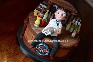 Bar cake no 2 - Cake by Zoe's Fancy Cakes