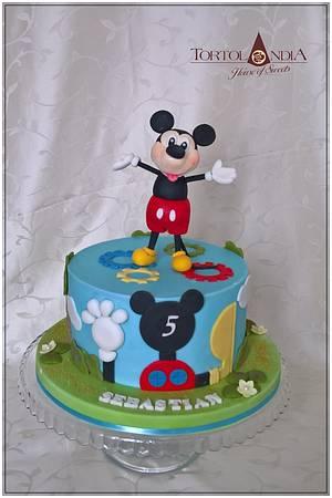 Mickey Mouse  - Cake by Tortolandia