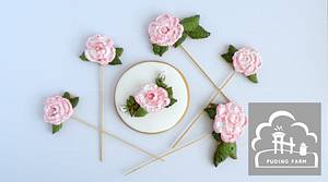 Roses - Cake by PUDING FARM