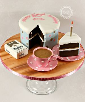 Tea and Cake - Cake by kingfisher