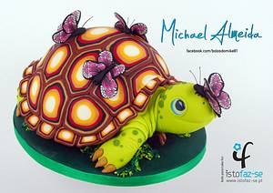 LOVELY TORTOISE - Cake by Michael Almeida