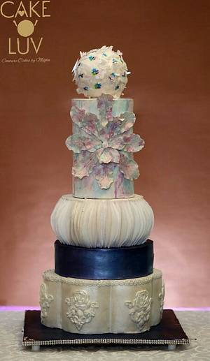 New age cake - Cake by Cake O'Luv - megha