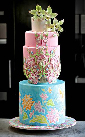 Peranakan Bliss - Cake by Cakes! by Ying