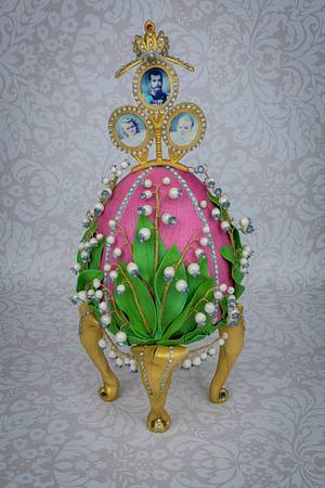 Faberge Egg (Showpiece) - Cake by Prima Cakes and Cookies - Jennifer