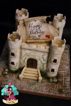 Medieval castle x  - Cake by DusiCake
