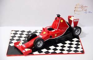 Ferrari Formula 1  - Cake by Signature Cake By Shweta