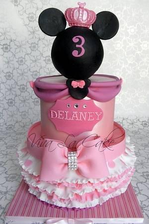 Princess Minnie Mouse  - Cake by Joly Diaz