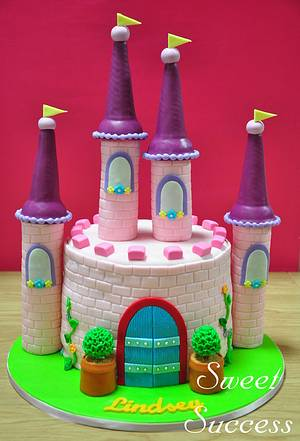 Castle Cake - Cake by Sweet Success