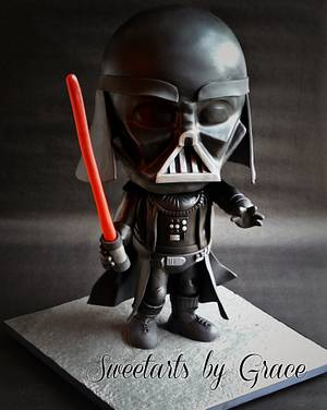 Darth Vader Cake - Cake by sweetarts by grace