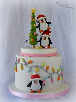 'Tis the season to be jolly!!! - Cake by CakeHeaven by Marlene