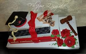 books of knowledge - Cake by filippa zingale