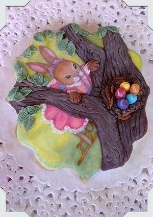 Conejita de Pascua - Cake by Yolanda