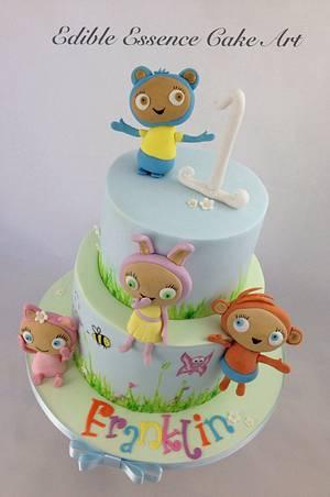 Waybuloo  - Cake by Edible Essence Cake Art