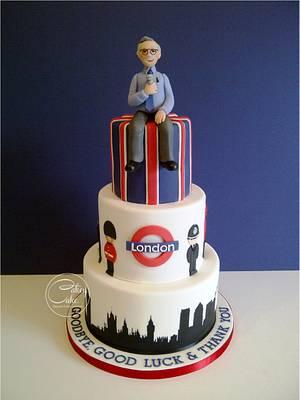 London Cake - Cake by CakeyCake