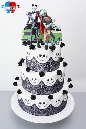 Jack & Sally's Wedding - Cake by CAKE RÉVOL