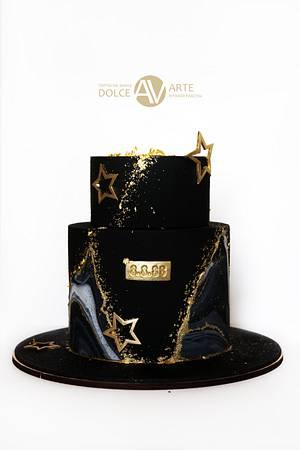 cake for men in infinity - Cake by Alina Vaganova