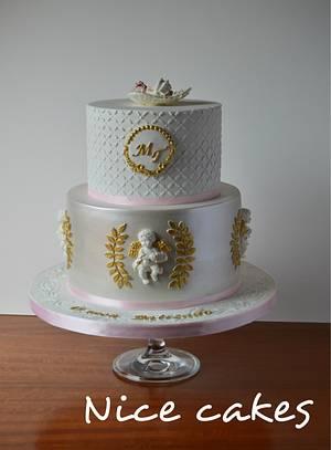 Christening cake - Cake by Paula Rebelo