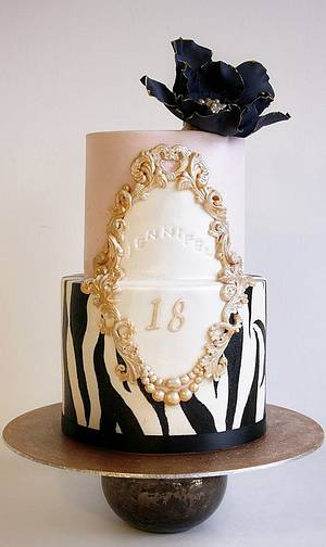 18th Birthday cake. - Cake by Sannas tårtor