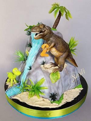 Dinosaurs - Cake by Sendi