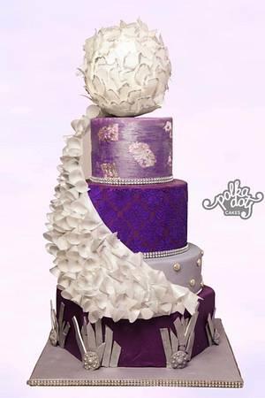 Modern Wedding Cake - Cake by Sonia Chhabda