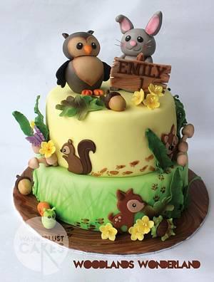 Woodlands Wonderland - Cake by Wanderlust Cakes