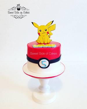 Pikachu - Cake by Sweet Side of Cakes by Khamphet