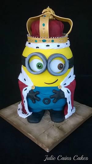 King Bob - Cake by Julie Cain