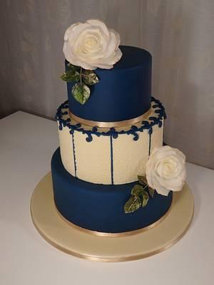 January wedding cake - Cake by Gabriela Rüscher