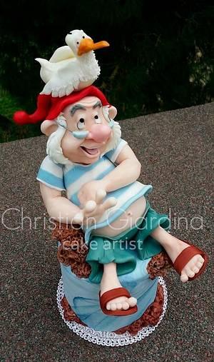"""""""Mr Smee!"""" - Cake by Christian Giardina"""